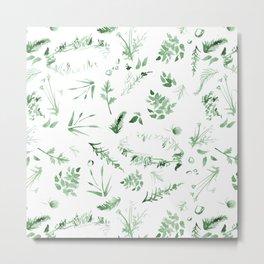 goey green Metal Print