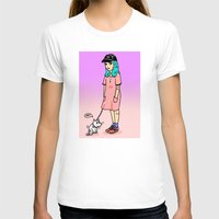 amelie T-shirts featuring Amelie and Steve by KITA