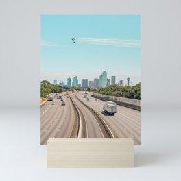 VERTICAL Blue Angels over Dallas Mini Art Print