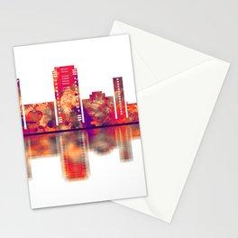 Gurgaon Haryana Skyline Stationery Cards