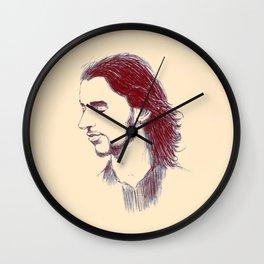 depeche dave gahan sofad in color Wall Clock