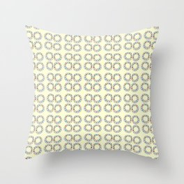 Circle and abstraction 8-abstraction,abstract,geometric,geometrical,pattern,circle,sphere Throw Pillow