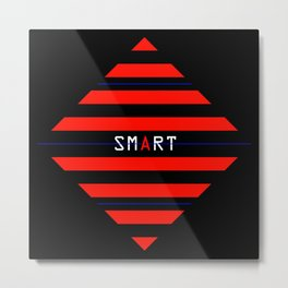 Venometura - smart cube Metal Print