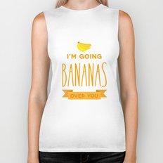 Going bananas over you Biker Tank