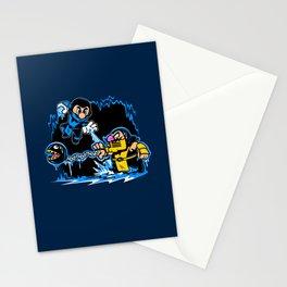 Mario Kombat Stationery Cards