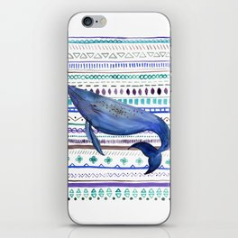 What about the Whales? iPhone Skin