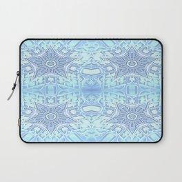 Baby Blue Gothic Stars Laptop Sleeve