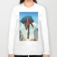 dracula Long Sleeve T-shirts featuring Dracula by Eco Comics