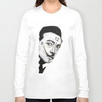 dali Long Sleeve T-shirts featuring Dali by Dano77