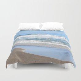 Baby Blue Ocean Duvet Cover