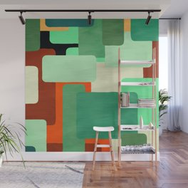 Levels, Mid Century Design Wall Mural