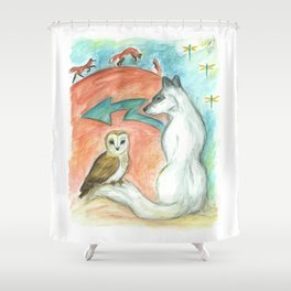 Dreamkeepers Shower Curtain