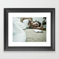 Til death.... Framed Art Print