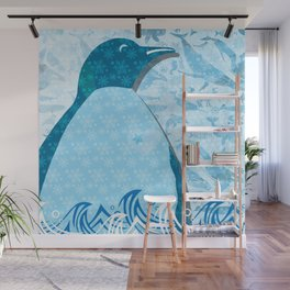 Penguin: Love Wall Mural