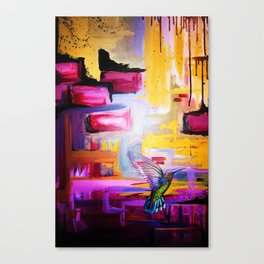 Fly On The Wall Canvas Print