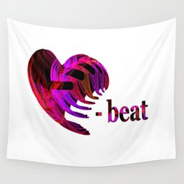 Heartbeat Wall Tapestry