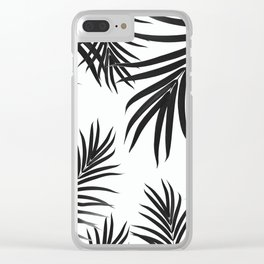 Palm Leaves Pattern Summer Vibes #2 #tropical #decor #art #society6 Clear iPhone Case