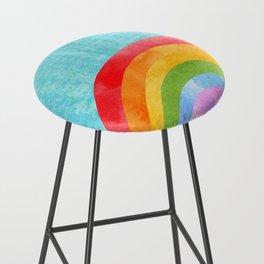 rainbow Bar Stool