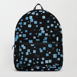 Blue Speckled Waves Backpack