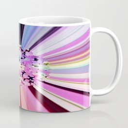 Colorful Confetti Striations Coffee Mug