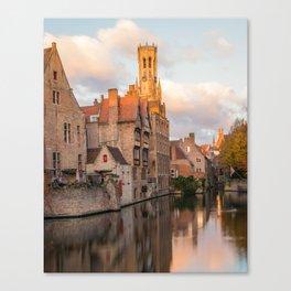 Classic Bruges Canvas Print