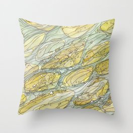 Eno River 33 Throw Pillow