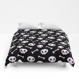 Cute Skulls Comforters