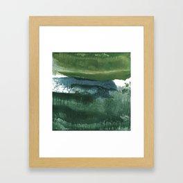 Encaustic Abstract No.27O by Kathy Morton Stanion Framed Art Print