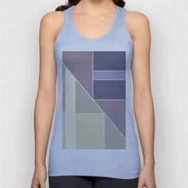 Simple geometric pattern. Unisex Tank Top