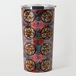Biohazard Pattern Travel Mug