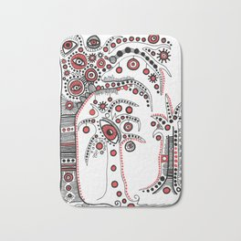 """""""The Enchanted Forest"""" #2 Bath Mat"""