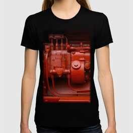 Red Tractor motor T-shirt