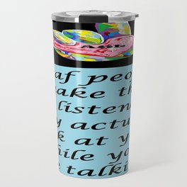 Best Listeners Travel Mug