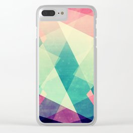 August Clear iPhone Case