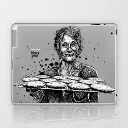 Carol's Got Cookies! From the Walking Dead. Melissa McBride in comic book form. Laptop & iPad Skin