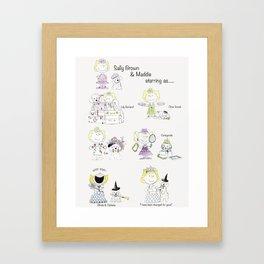 For Kimmie Framed Art Print