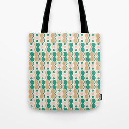 Uende Cactus - Geometric and bold retro shapes Tote Bag