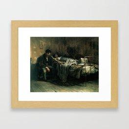 The Misery,  Cristóbal Rojas Poleo, 1886 Framed Art Print