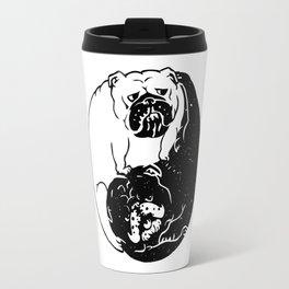 The Tao of English Bulldog Travel Mug