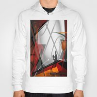 basketball Hoodies featuring Basketball by Robin Curtiss