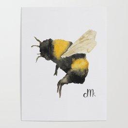 Dancing Bumblebees Poster