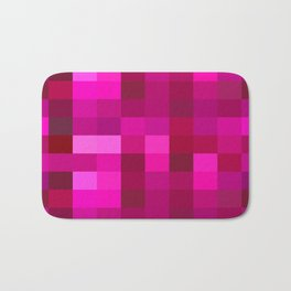 Pink Mosaic Bath Mat