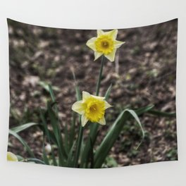 Spring Daffodil Wall Tapestry