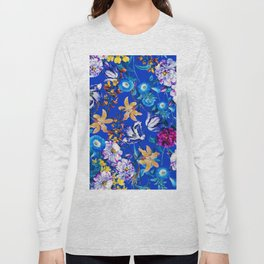 Surreal Floral Long Sleeve T-shirt