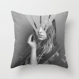 Sweet Sharps I Throw Pillow