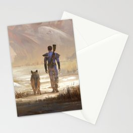 Fallout video game Stationery Cards