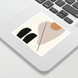 Abstract Shapes 61 Sticker