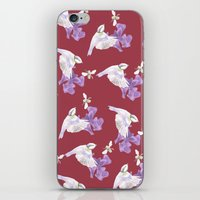 birdy iPhone & iPod Skins featuring Birdy by Marlidesigns