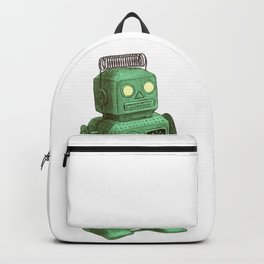 Robot vs Alien Backpack