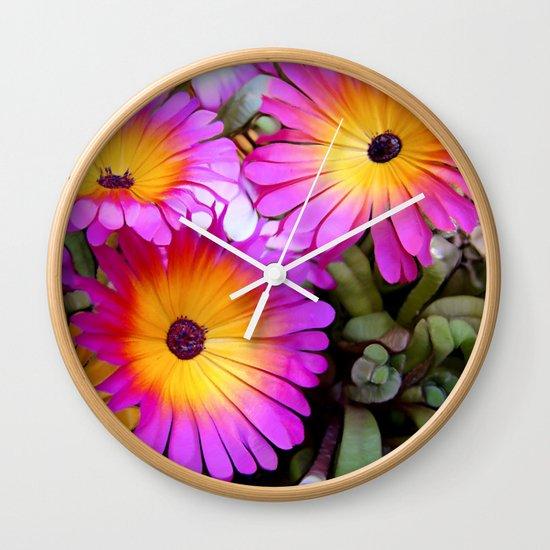 FlowerPower Wall Clock